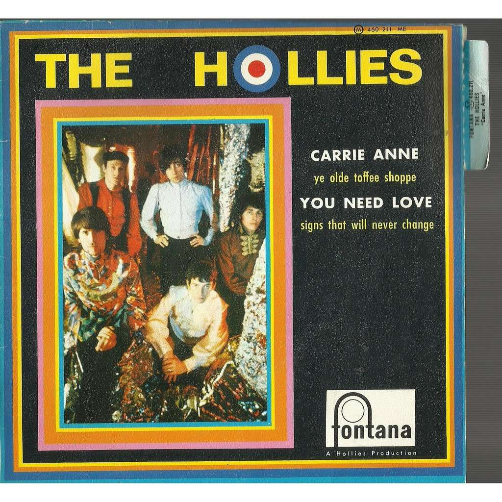 hollies carrie anne