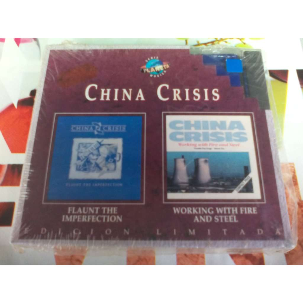 CHINA CRISIS 2 CD. China crisis-- flaunt the imperfection -- working with fire and stell