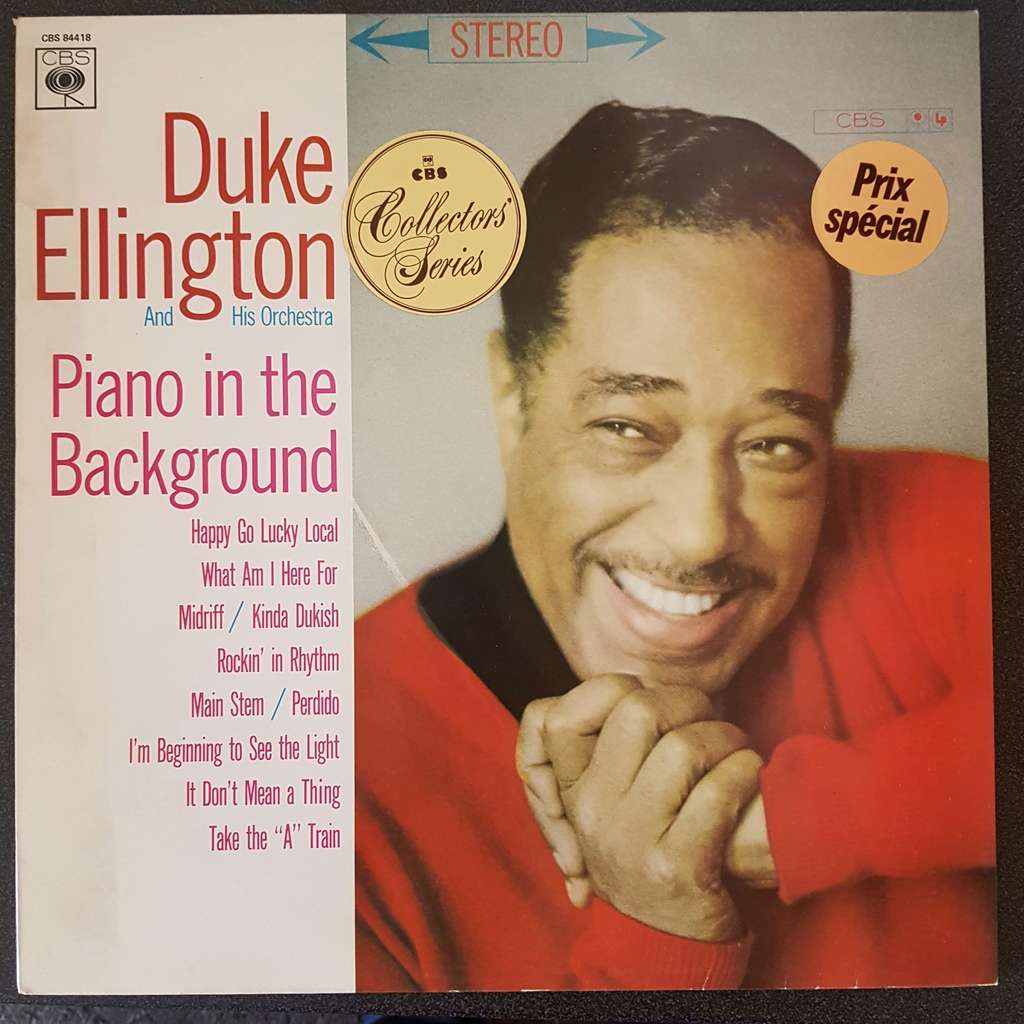 Duke Ellington And His Orchestra Piano In The Background