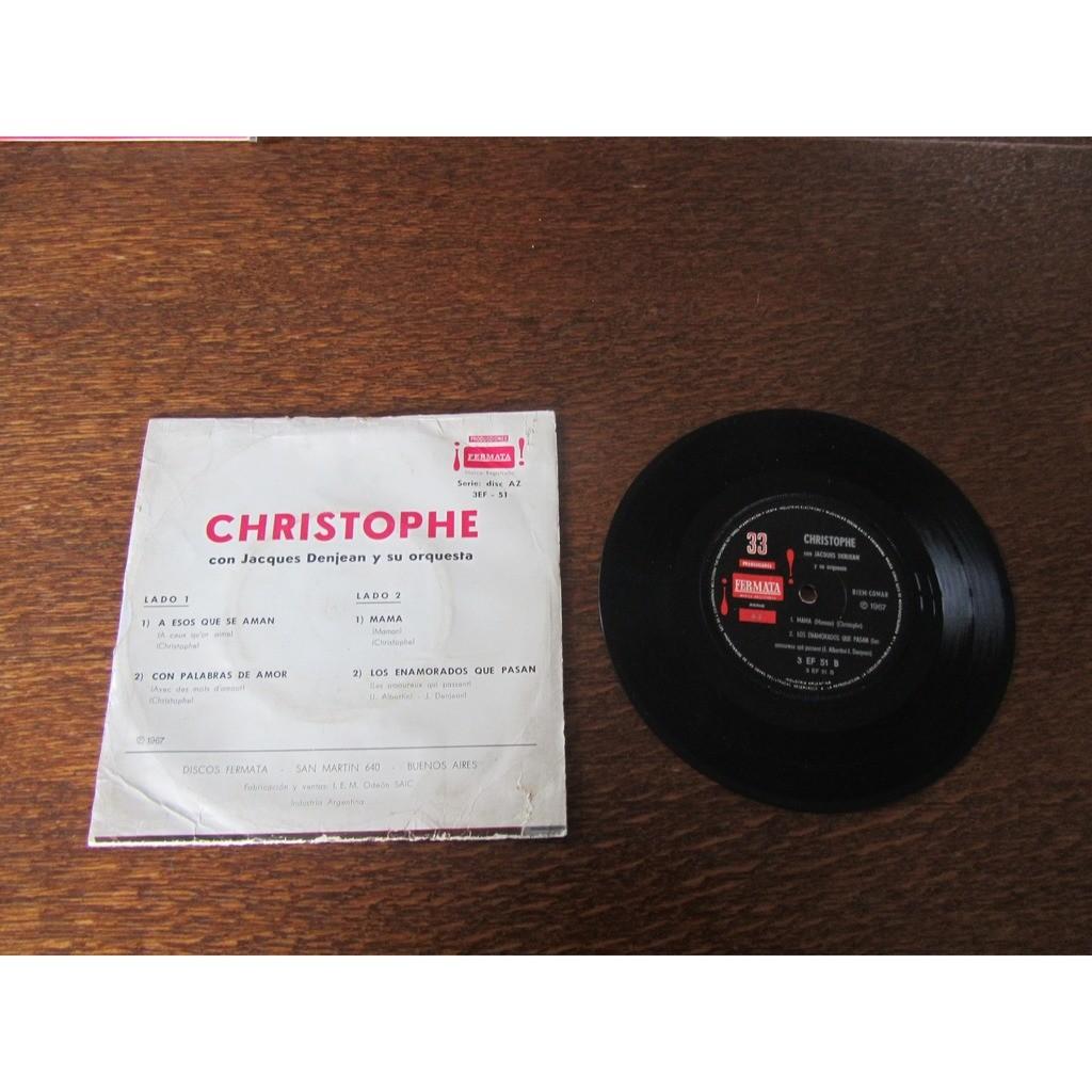 christophe a esos que se aman