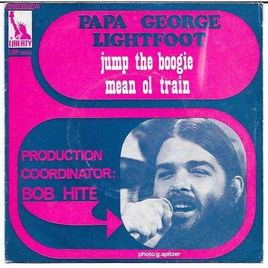 papa george lightfoot jump the boogie / mean ol train