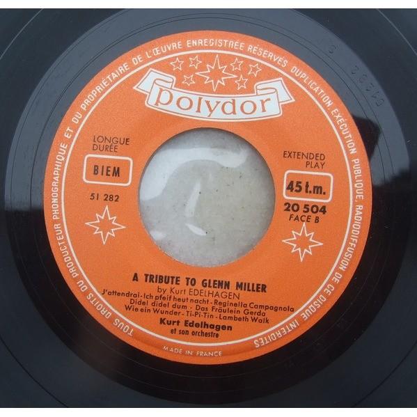 Kurt EDELHAGEN A Tribute to Glenn Miller (rare original first French press - 1955 and no 1956)