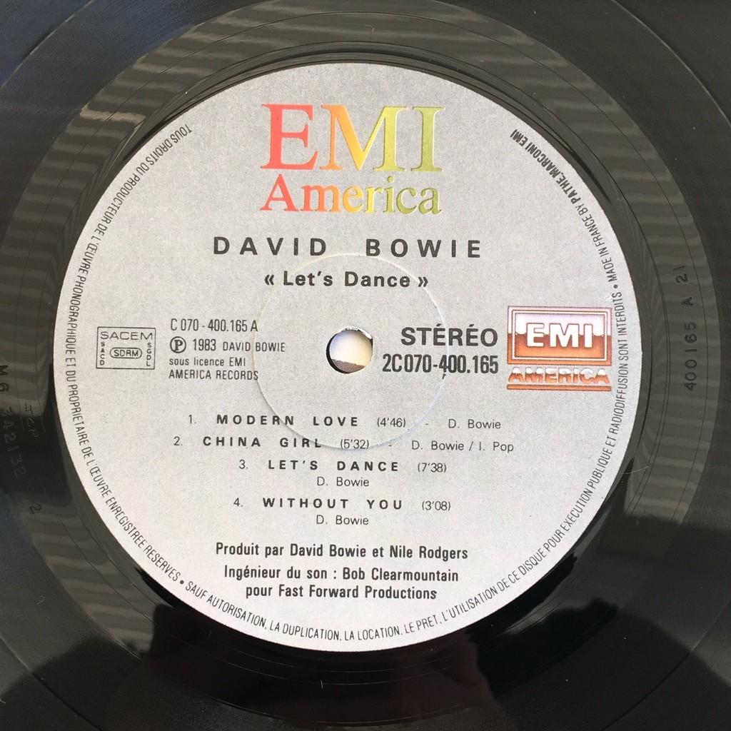 david bowie Let's Dance