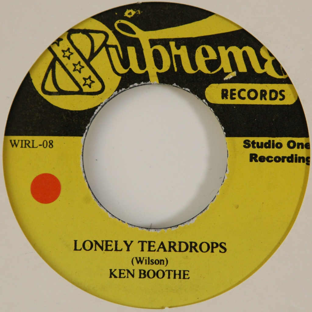 Ken Boothe / The Maytals Lonely Teardrops / Hello Honey
