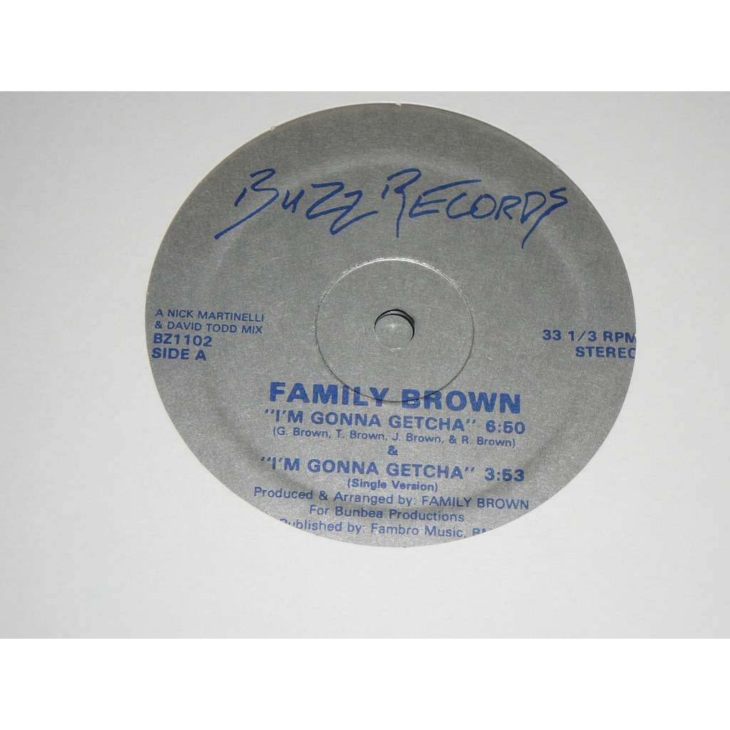 family brown I'm gonna getcha