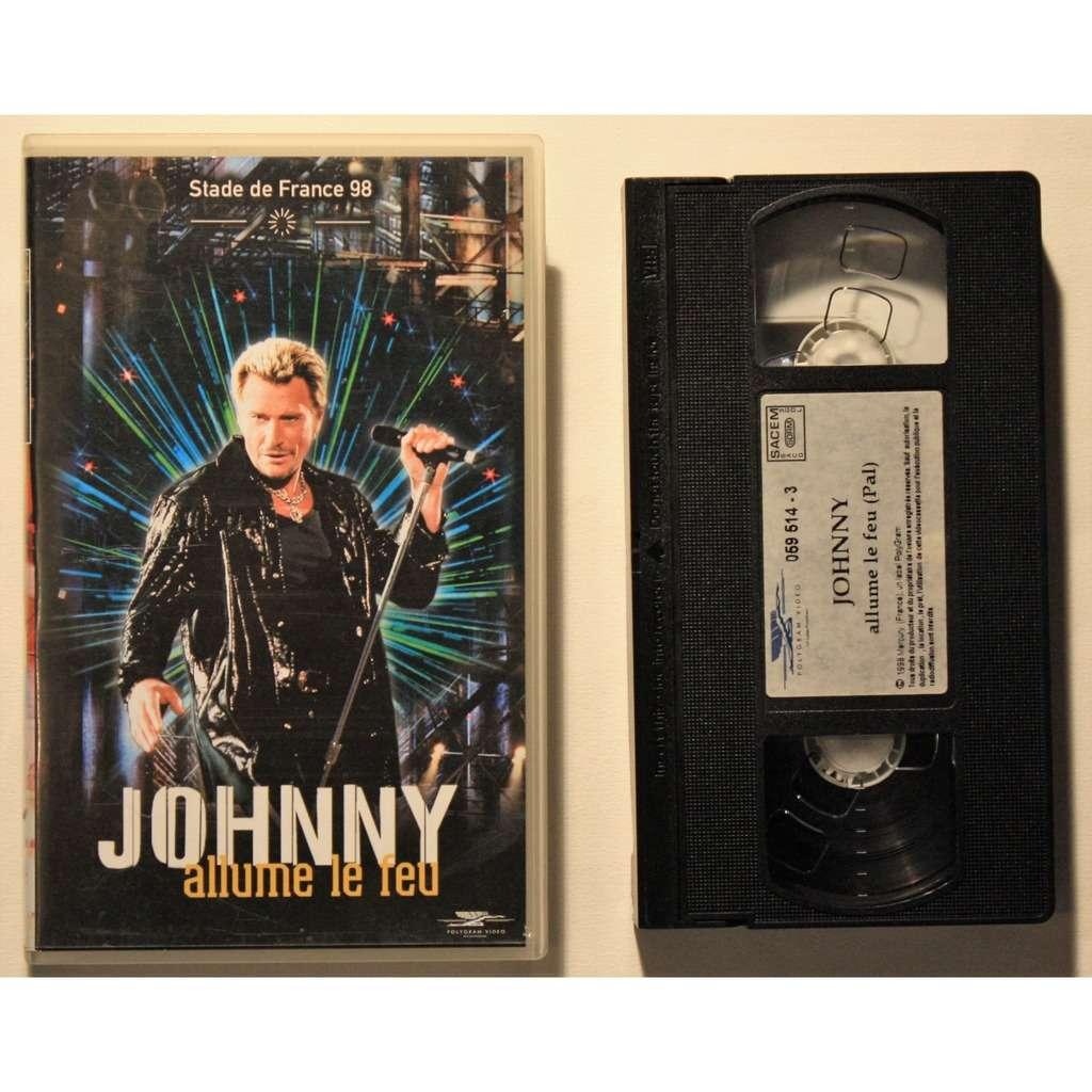 Johnny Hallyday Johnny - Allume le feu - Stade de France 98
