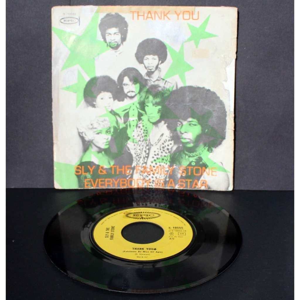 Sly & The Family Stone Thank You / Everybody Is A Star