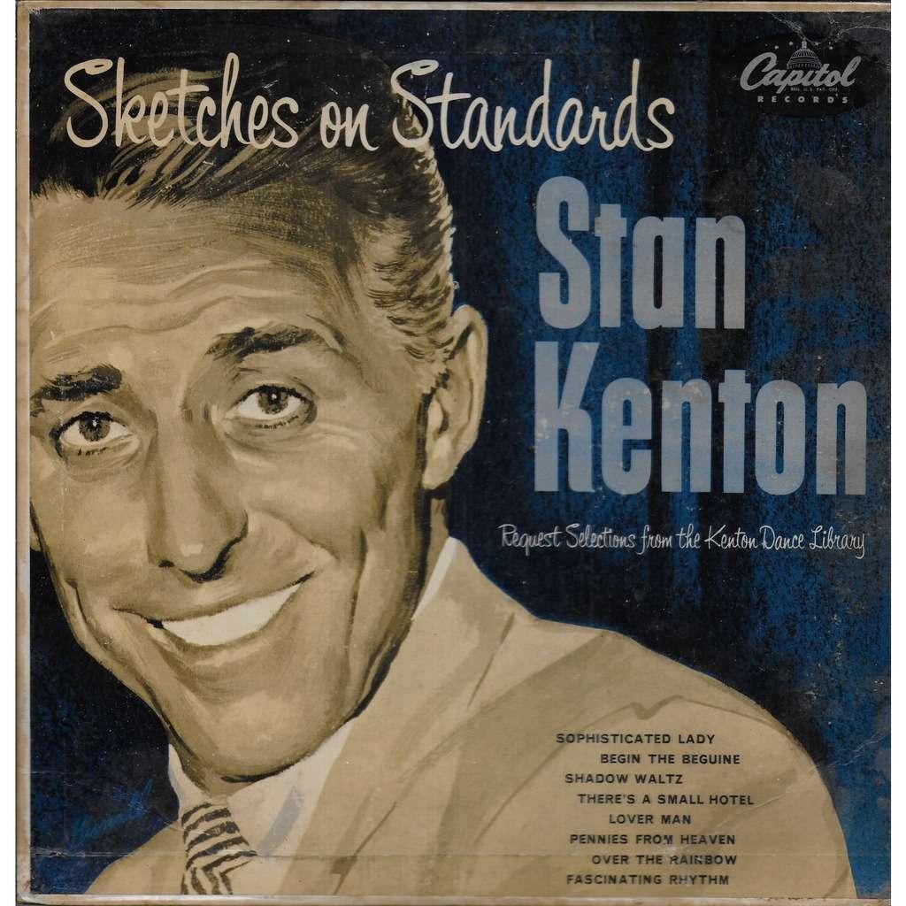 Stan KENTON orchestra Sketches On Standards