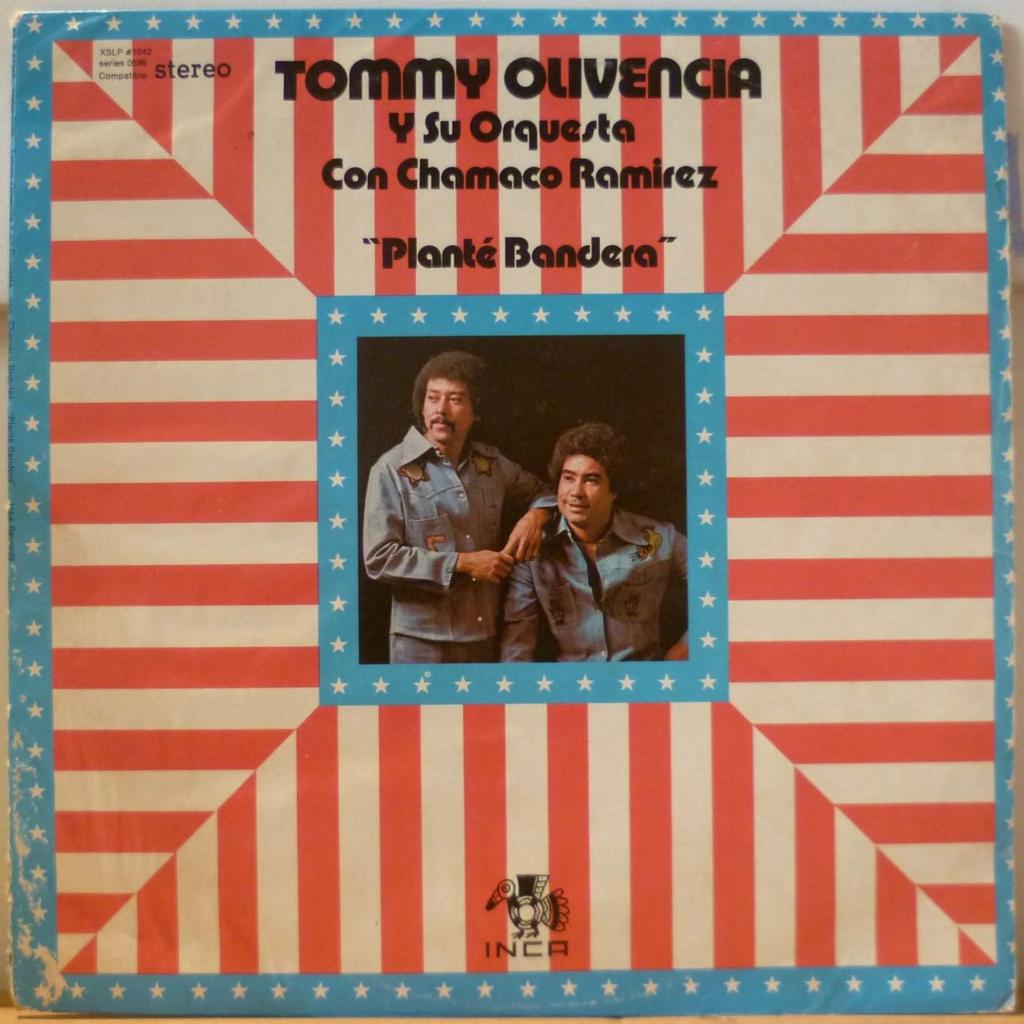 TOMMY OLIVENCIA y su ORQUESTA Plante bandera