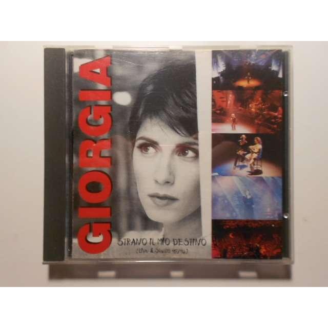 giorgia strano il mio destino live & studio 95/96