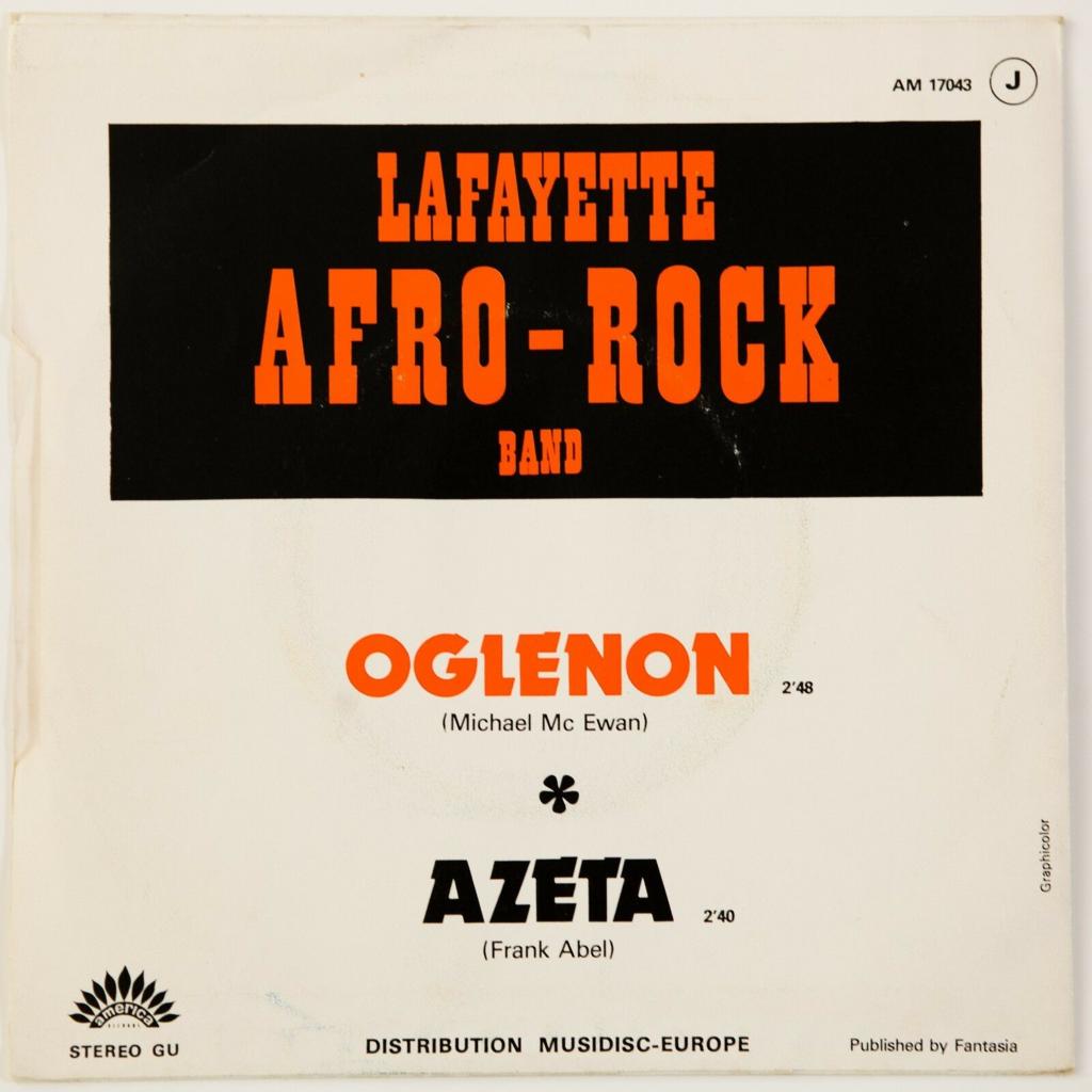 Lafayette Afro Rock Band Oglenon / Azeta (Afro/Funk)