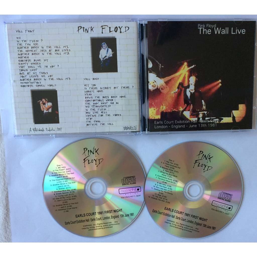 PINK FLOYD EARLS COURT 81 - FIRST NIGHT