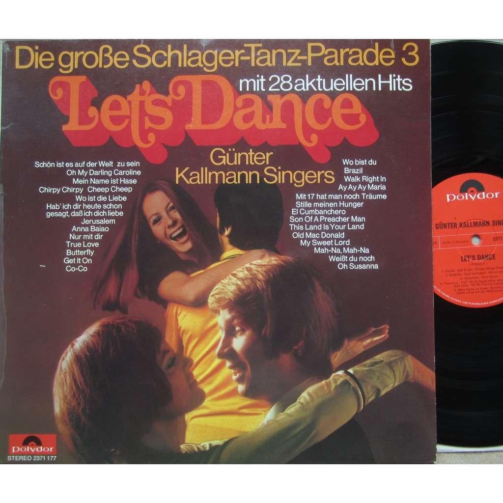 günter kallmann singers let's dance