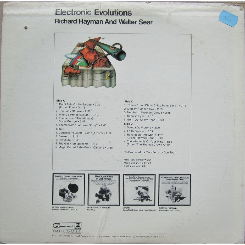 richard hayman & walter sear electronic evolutions