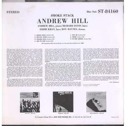 Andrew Hill Smokestack