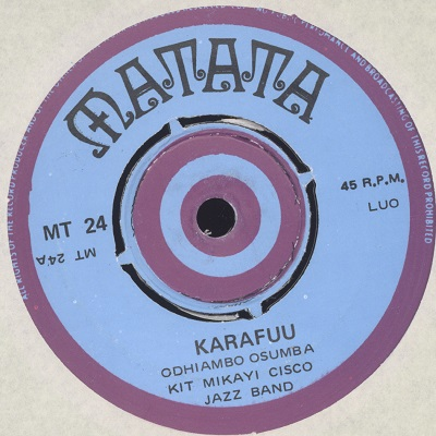 Kit Mikayi Cisco Jazz Band Karafuu / Bonn Olocho Balla