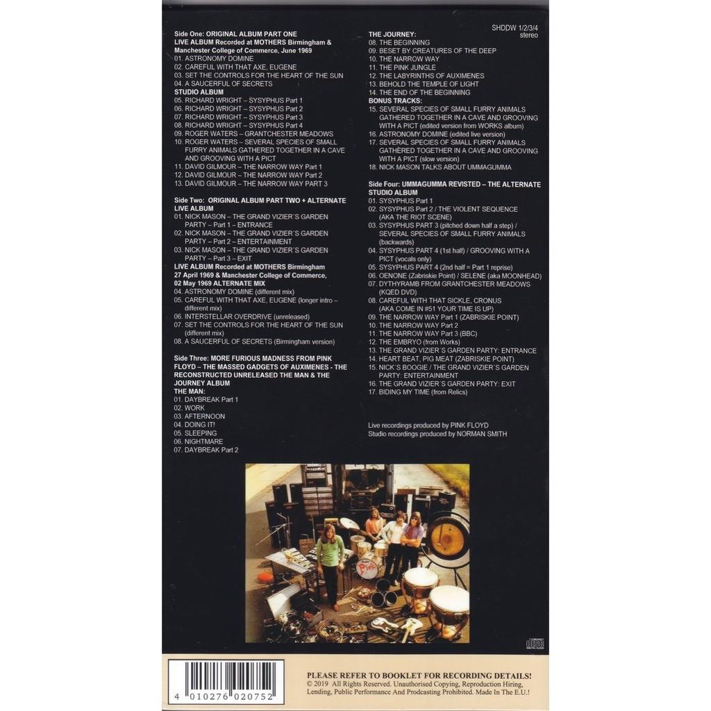 pink floyd Ummagumma The High Resolution Remasters 4CD