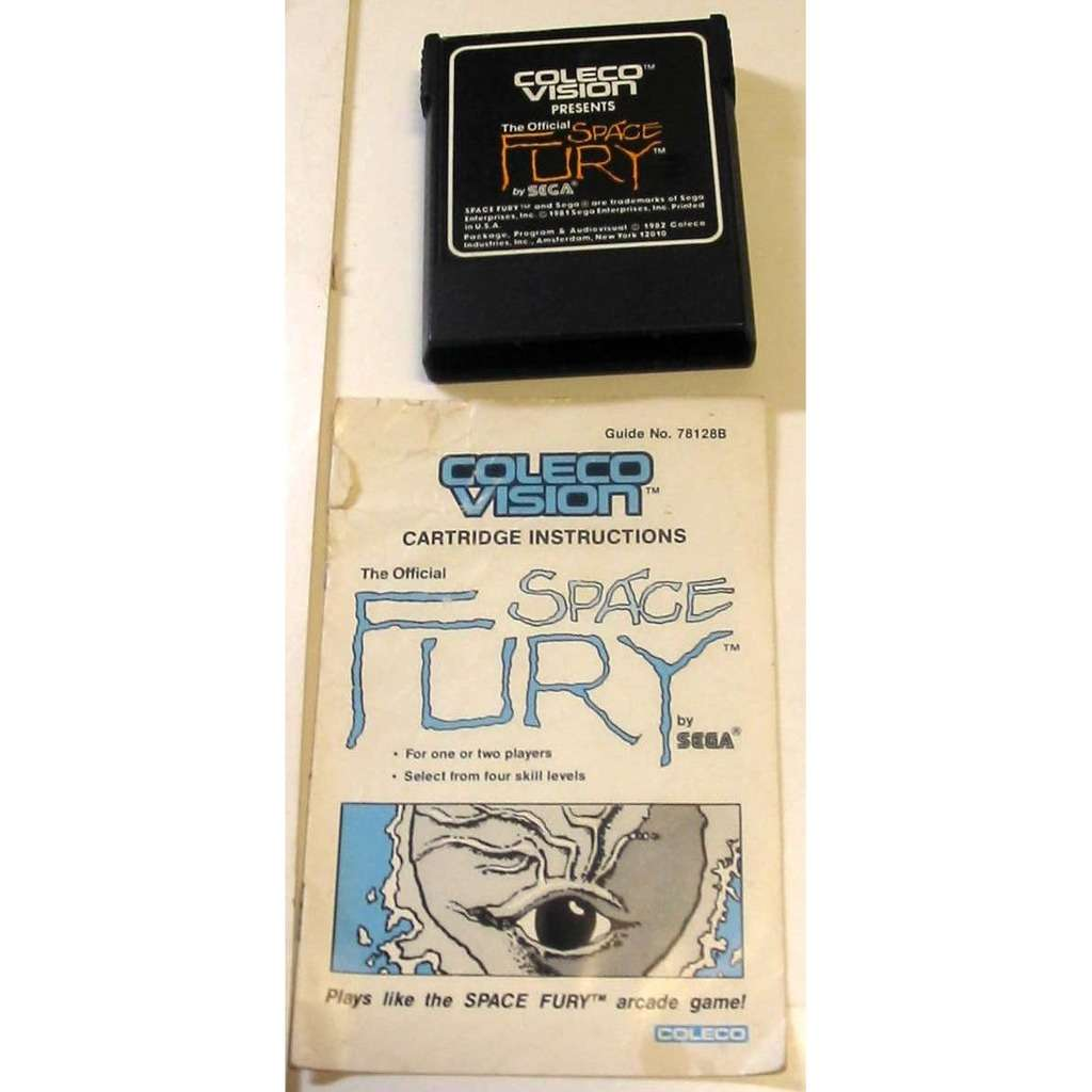ColecoVision Space Fury with Manual