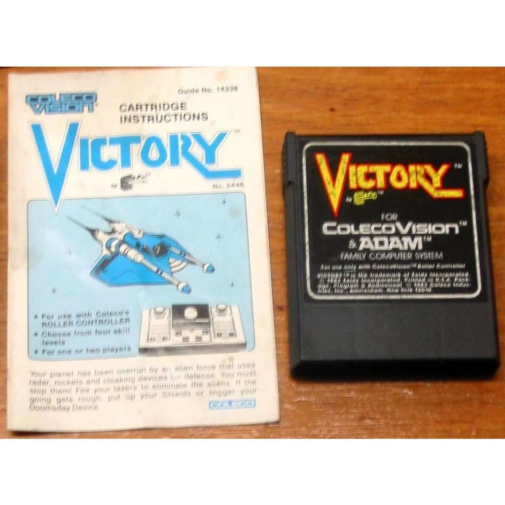 ColecoVision Victory with Manual