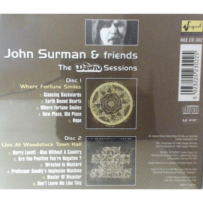 John Surman Stu Martin John McLaughlin D. Holland John Surman & Friends, The Dawn Sessions
