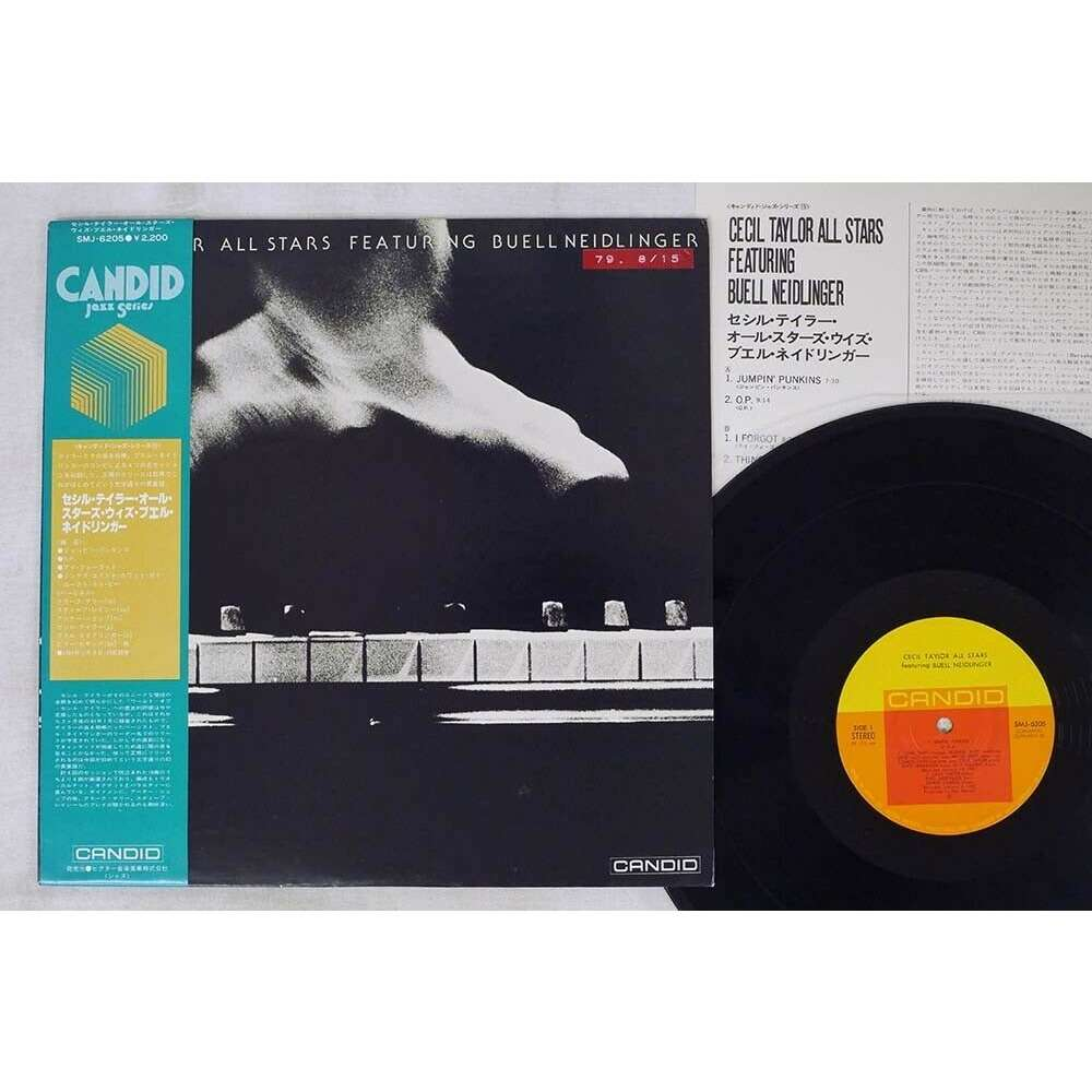 Cecil Taylor Lacy Shepp Davis Neidlinger Terry .. Cecil Taylor All Stars Featuring Buell Neidlinger - Cecil Taylor All Stars Featuring Buell Neidlin