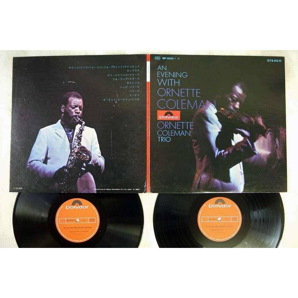 Ornette Coleman Charles Moffett David Izenzon ... Ornette Coleman Trio - An Evening With Ornette Coleman