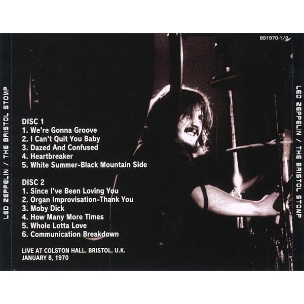 Led Zeppelin The Bristol Stomp - Live at Colston Hall, Bristol, U.K. January 8, 1970