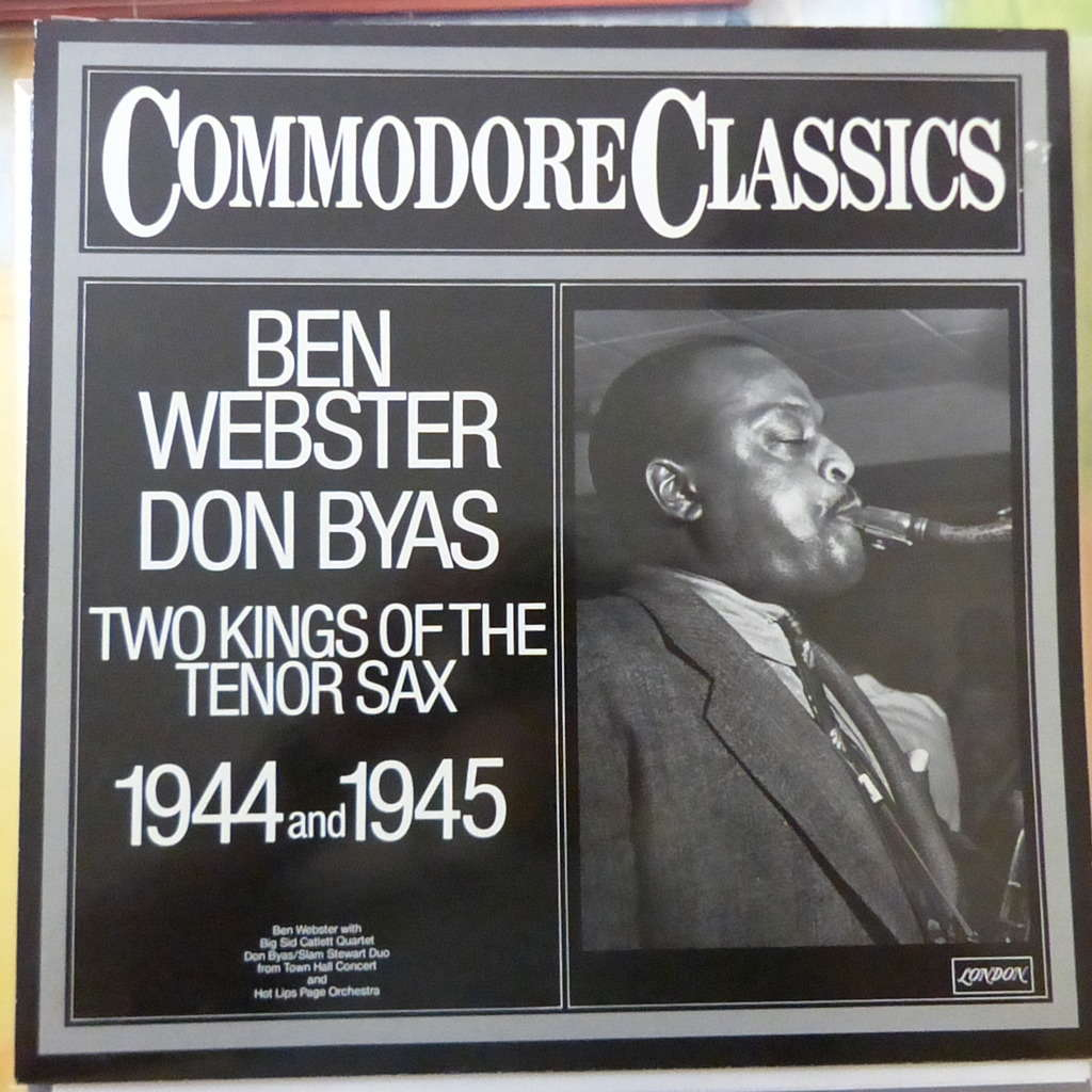 BEN WEBSTER/DON BYAS TWO KINGS OF TENOR SAX