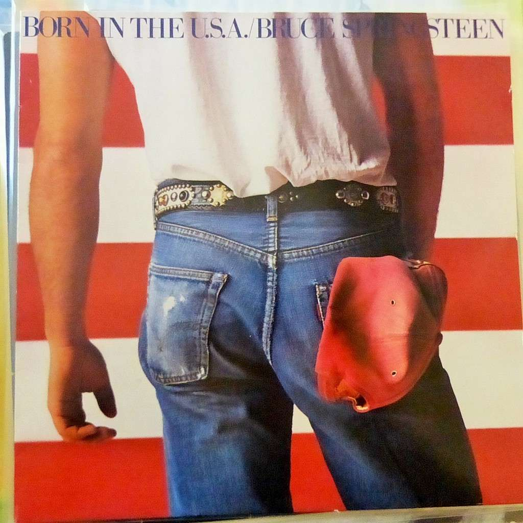 BRUCE SPRINGSTEEN BORN IN THE USA
