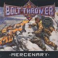 BOLT THROWER - Mercenary (lp) Ltd Edit 180 Gram Black Vinyl + Poster & Gatefold Sleeve -E.U - 33T