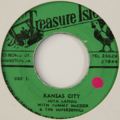 JOYA LANDIS - Kansas City / Out The Light - 45T (SP 2 titres)