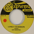 KEN BOOTHE / THE MAYTALS - Lonely Teardrops / Hello Honey - 45T (SP 2 titres)
