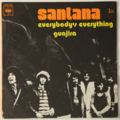 SANTANA - Everybody's Everything / Guajira - 45T (SP 2 titres)