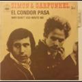 SIMON & GARFUNKEL - El Condor Pasa - 45T (SP 2 titres)