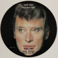 JOHNNY HALLYDAY - Trouble Boy (Picture Disc) - 45T (SP 2 titres)