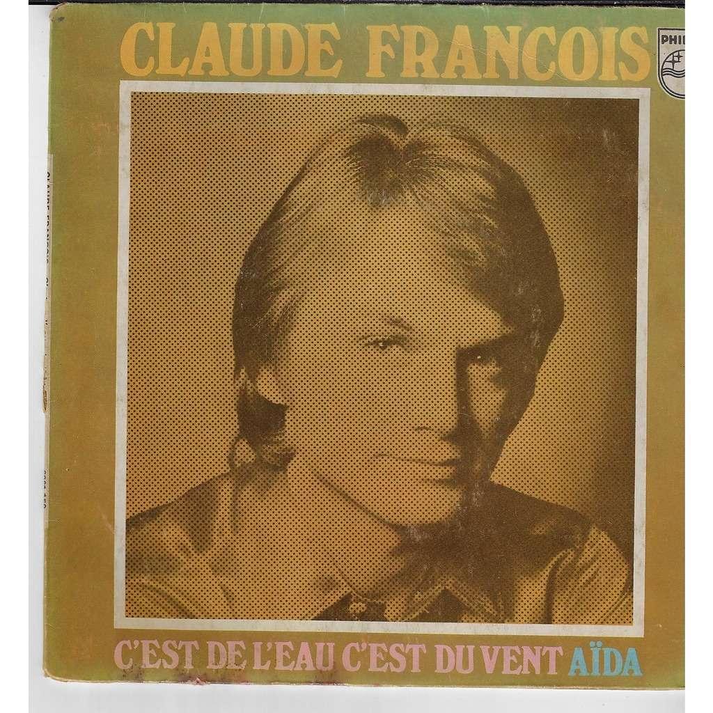 Claude François c'est de l'eau c'est du vent / Aïda