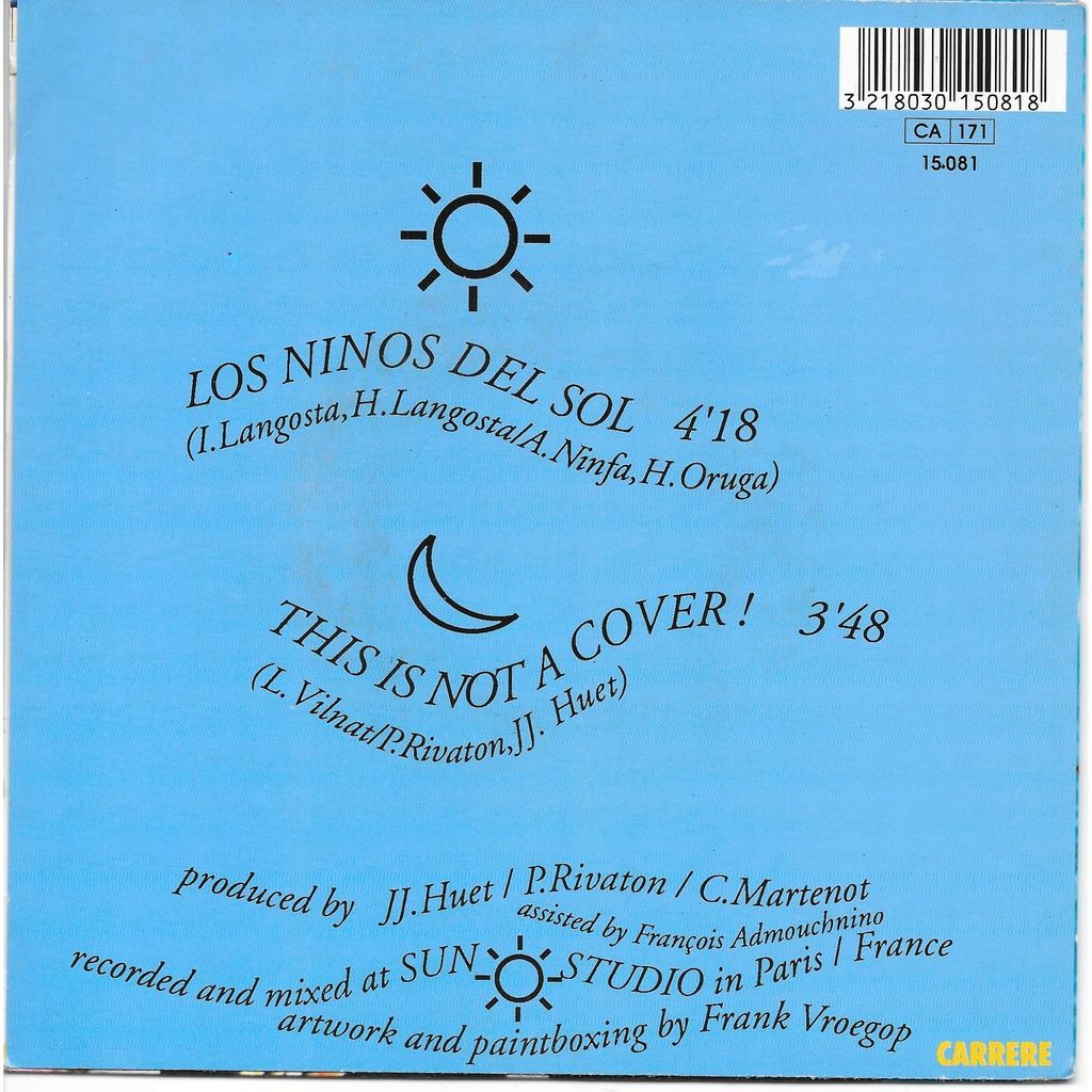Lorca Los ninos del sol - This is not a cover