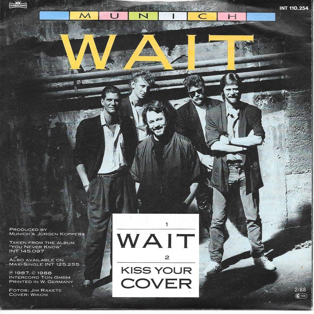 Munich Wait - Kiss your cover