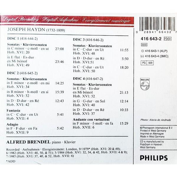 Haydn, Joseph 11 Piano Sonatas, Etc / Alfred Brendel