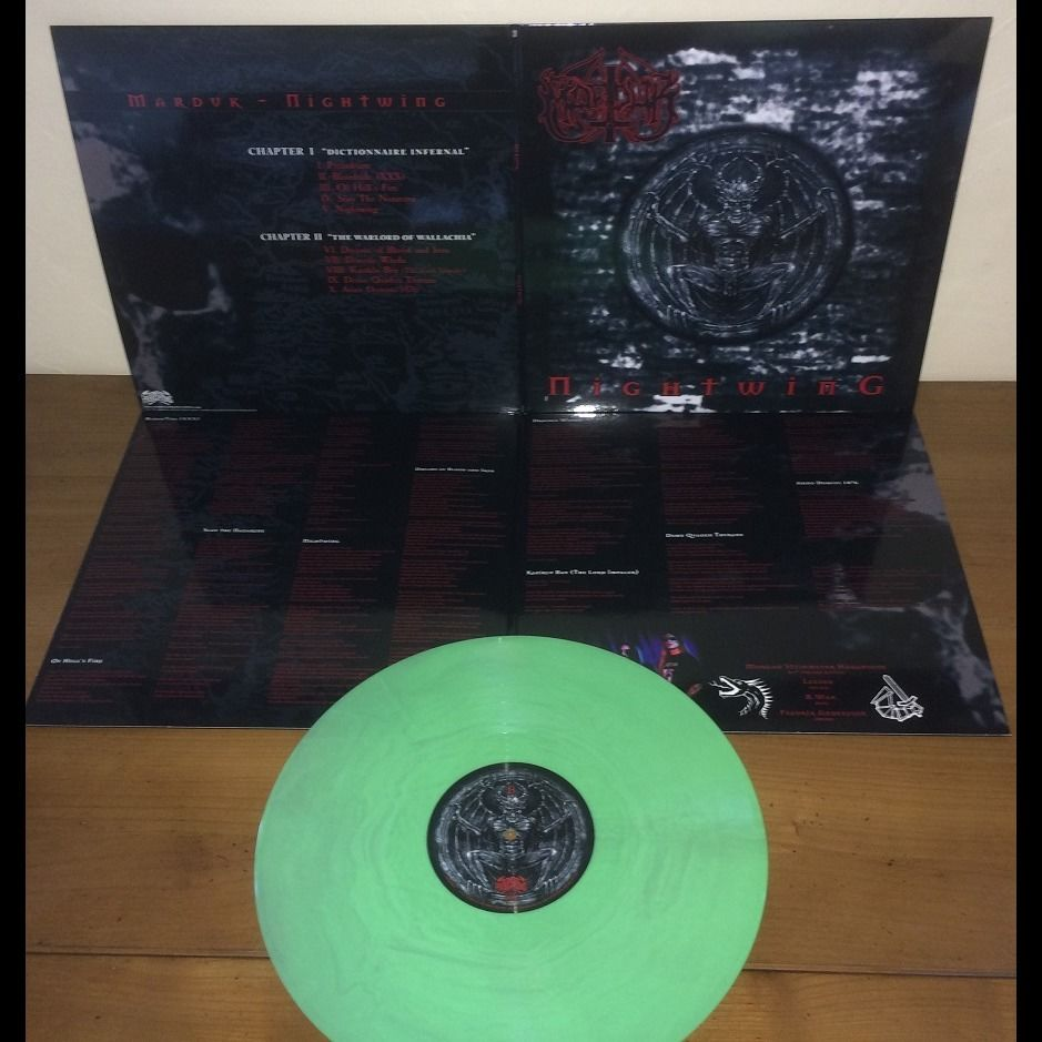 MARDUK Nightwing. Green Galaxy Vinyl