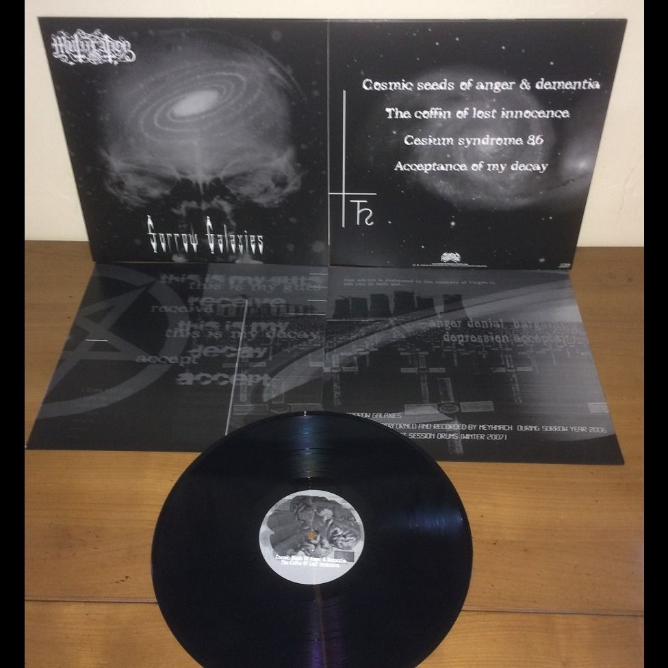 MUTIILATION Sorrow Galaxies. Black Galaxy Vinyl