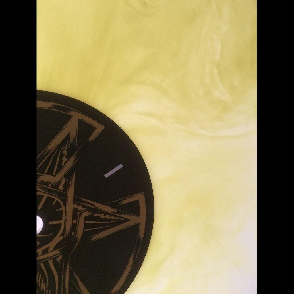 IMPALED NAZARENE Manifest. Yellow Galaxy Vinyl
