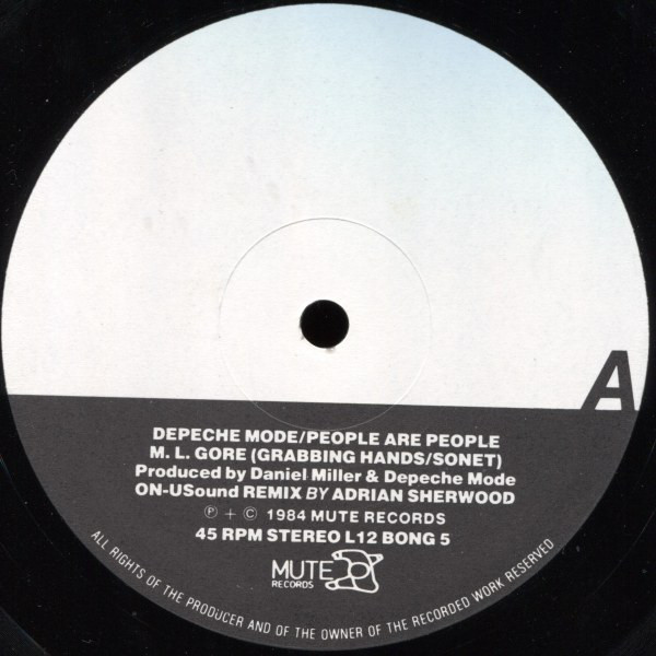 Depeche Mode People Are People (ON-USound Remix) Low # 062