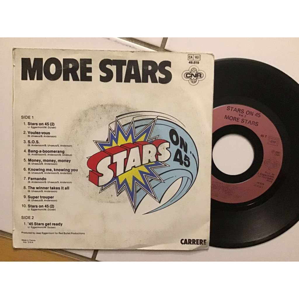 MORE STARS STARS ON 45 + 45 STARS GET READY