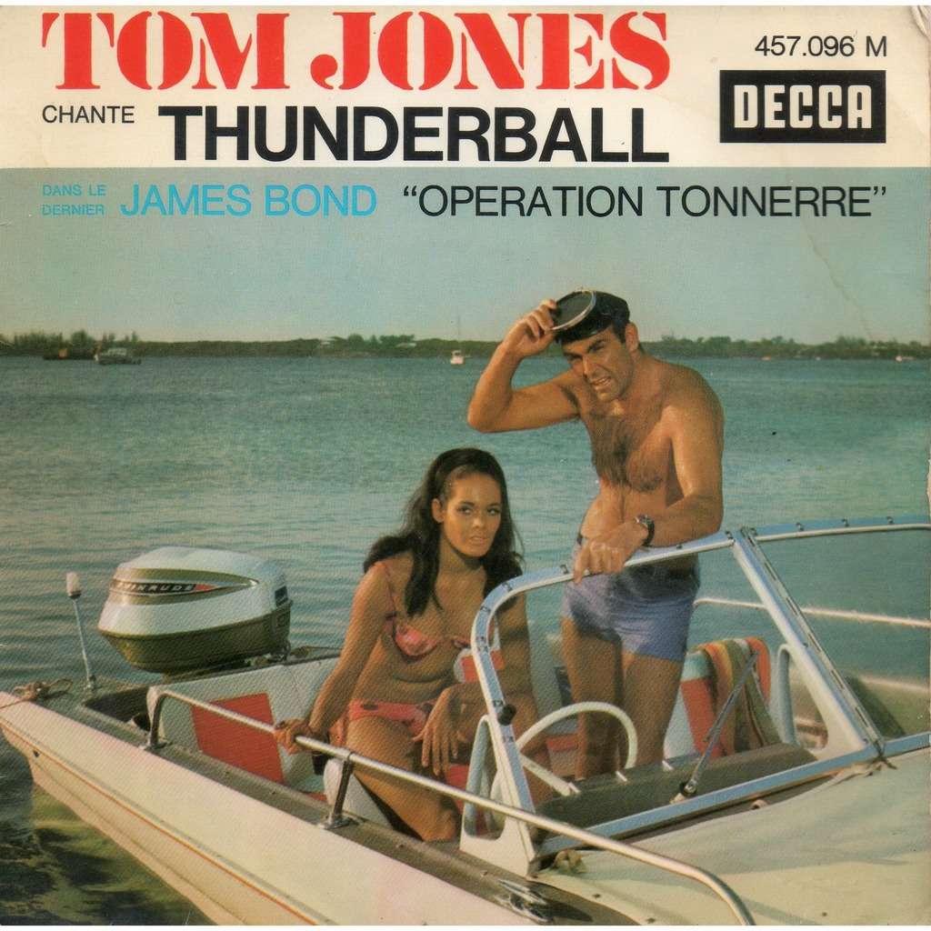 TOM JONES - JOHN BARRY operation tonnerre