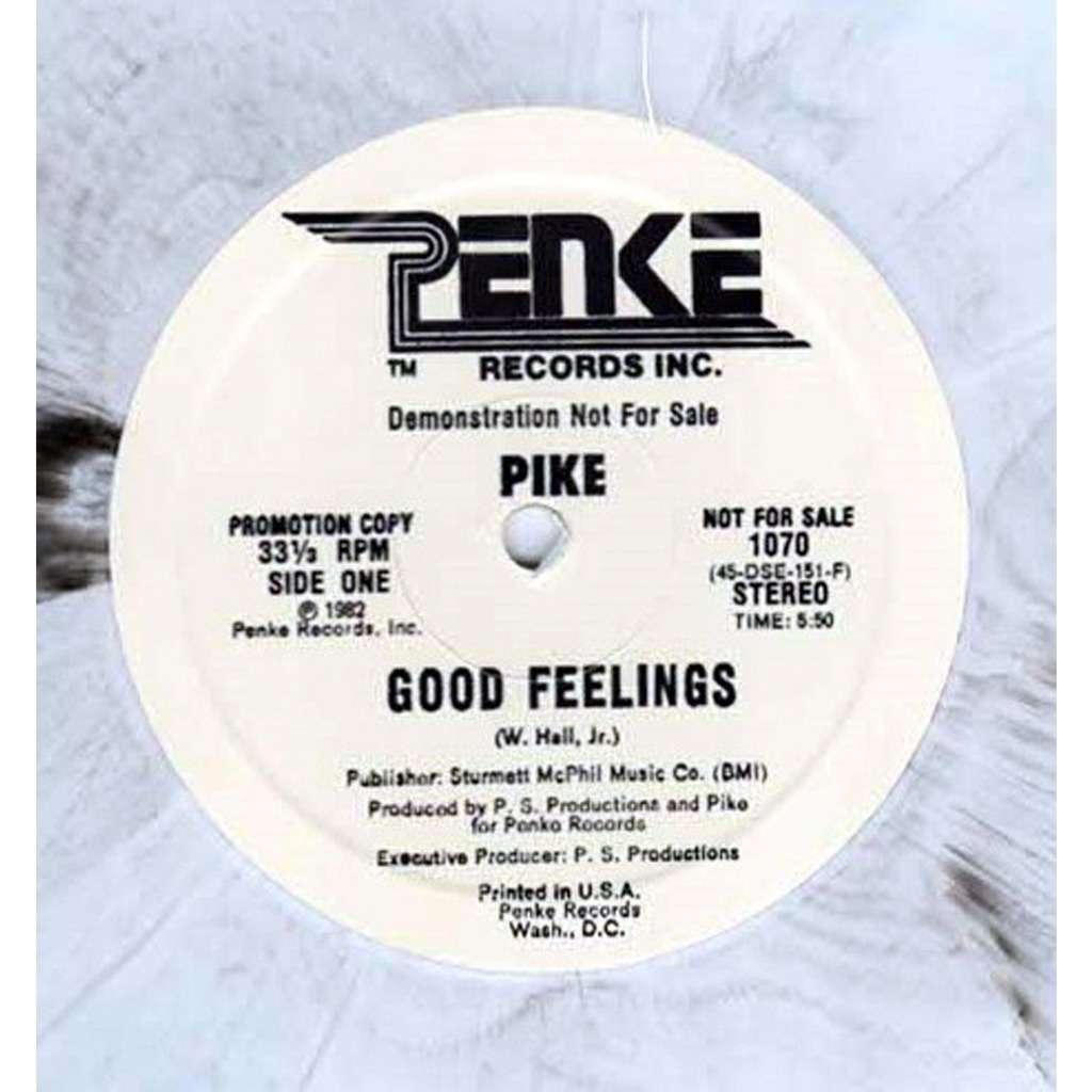 Pike - Good Feelings - 12 INCH COLOR Pike - Good Feelings - 12 INCH COLOR...