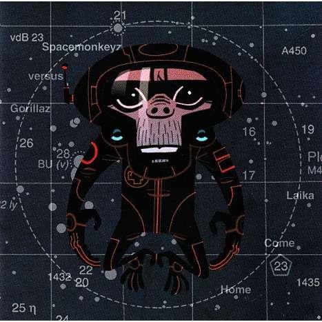 Spacemonkeyz Versus Gorillaz Laika Come Home