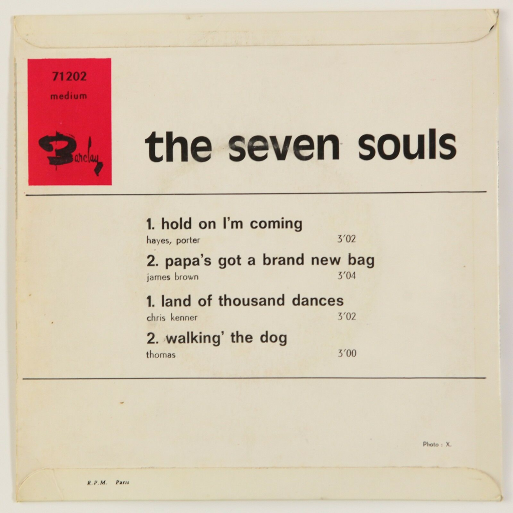 The Seven Souls Hold On I'm Coming +3 (Soul)