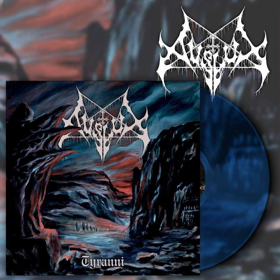 AVSLUT Tyranni. Dark Blue Vinyl
