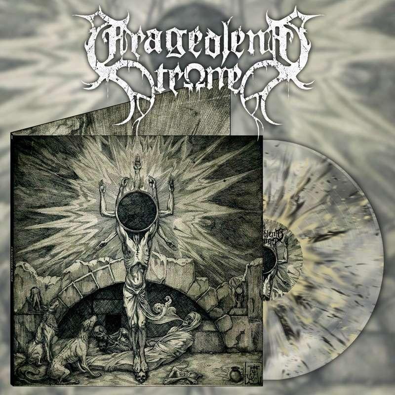 TRAGEDIENS TRONE Tragediens Trone. Splatter Vinyl